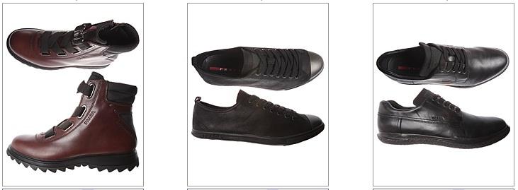 прада обувь