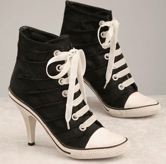 Купить кеды на каблуках