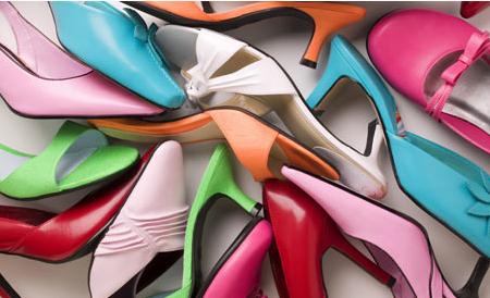 Обувь подчёркивает характер девушки