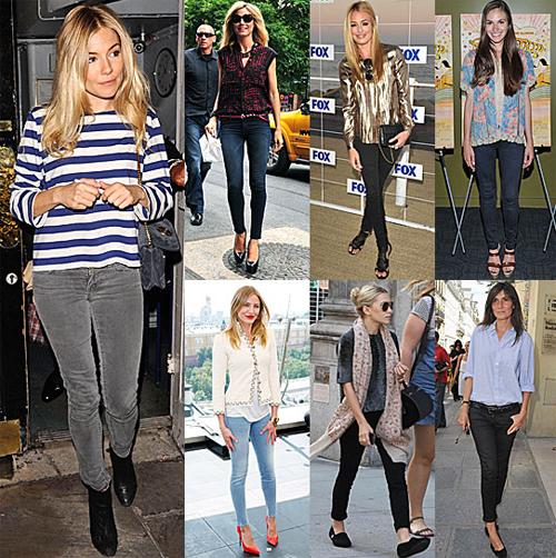 женская обувь под зауженные джинсы