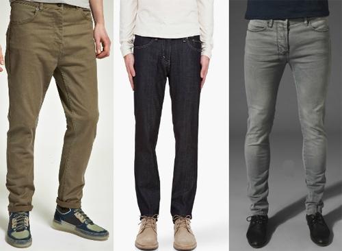 выбираем мужскую обувь под зауженные джинсы