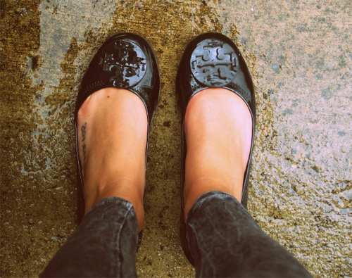 кожаная обувь после дождя