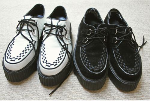 стиль обуви гранж